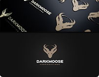 Dark Moose Logo