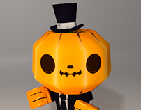 Mr Pumpking Head