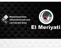 Business Card El Meriyati