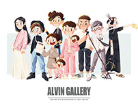 ALVIN GALLERY   同事篇【一】