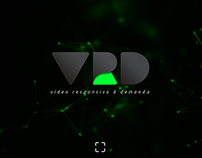 VRD - UI Concept for Interactive Video Platform