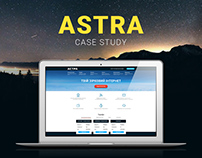 Astra ISP Website Redesign