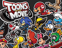 TOONS on the Move! Sticker Pack