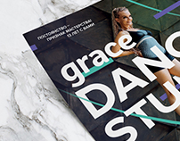 GRACE Dance Studio // Poster Design
