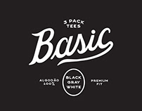 BASIC - 3 pack tees.