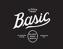 BASIC - 3 pack tees.