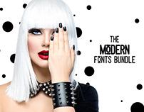 The Modern Fonts Bundle: 89 Unique Fonts