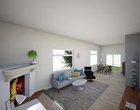 Interior Design | Living & Dining Room | Los Altos CA