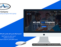 Website design for Yassen company