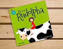 My cow Rudolpha, children's book