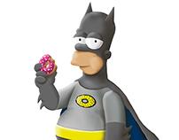 Homer Batman