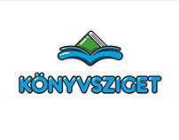 BookIsland - logo conception