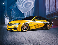 BMW M4 with HRE S101
