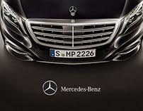 Mercedes Benz website proposal