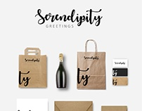 Serendipity Greetings I Branding