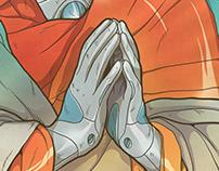 Iron Angel / Ilustración Digital
