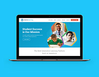 Website Design : Educational Product Company