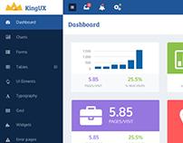 Dashboard UI Design & CSS
