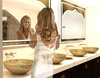 Indian/Morrocan Retaurant Bathroom