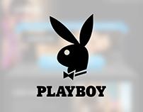 [UI/UX] Landing Page Design Concept for Playboy (2013)
