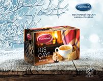 Kış Çayı Ambalaj Tasarımı. Package Design