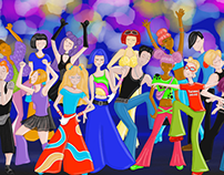 Dance2Trance - 50 dancers - ongoing project
