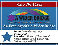 """A Wider Bridge"" E-Invites"