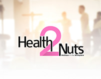 2 Health Nuts - Logo Design