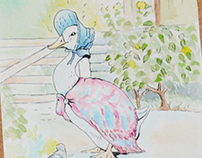 The Tale of Peter Rabbit and Benjamin Bunny Beatrix Po