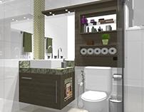 PROJETO: banheiro suíte