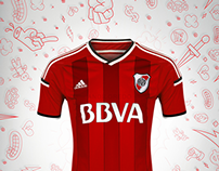 River Plate T-Shirt (Away)