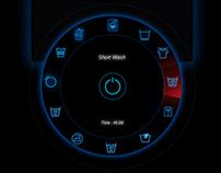 Laundry Machine Control Panel