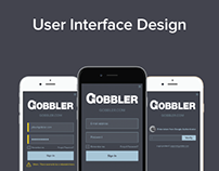 UI Design for Gobbler
