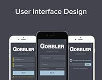 UI Design for Gobbler