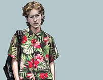 Street styling Illustrations