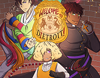 Welcome to Dietroit! (16pg comic samples)