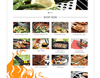 Outset Grillware Website