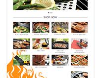 Outset Grillware Website