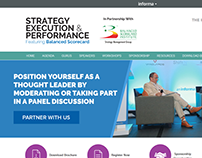 Strategy Execution & Performance - Website Design