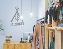 13 Nodes. Concept Store. Branding