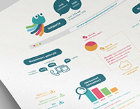 Infographic for Children's foundation