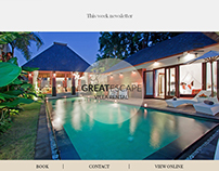 Great Escape - Psd Email Newsletter