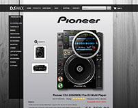 Dj Shack - E-Commerce Website
