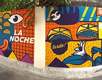 Taco Bell Cantina Mural