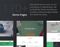 Salt | Responsive Multi-Purpose WordPress Theme