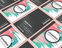 Stylish Business Card Template for Sale
