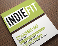 IndieFit Business Cards