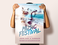 Summer Music Festival - Photoshop Poster