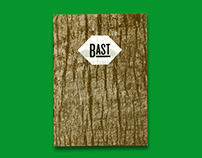 Bast coconut coal