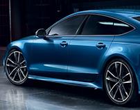 Audi Richmond - Transit Advertising (January 2017)